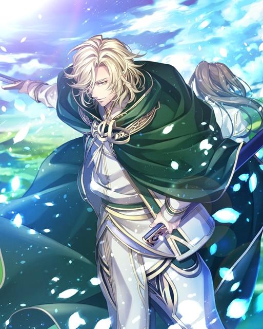 ▲騎士と父の顔 レオン