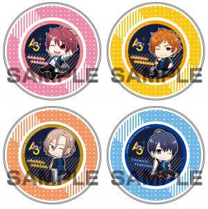 ▲『A3!』マグネット付きキャンディー缶(全4種) 各797円+税