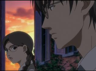 TVアニメ『地獄少女 宵伽』回顧録(3)「零れたカケラ達」より場面カット到着!茜を心配する担任の深沢芳樹は……
