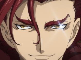 『将国のアルタイル』TVアニメ第9話「紅虎の将王」より先行場面カットが到着! 情報収集のため水の社殿に立ち寄るマフムートだが……