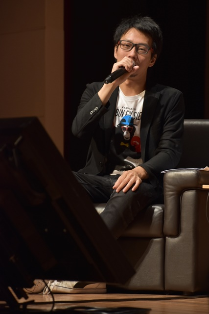 ▲ゲーム『SAO』シリーズのプロデューサー・二見鷹介氏。