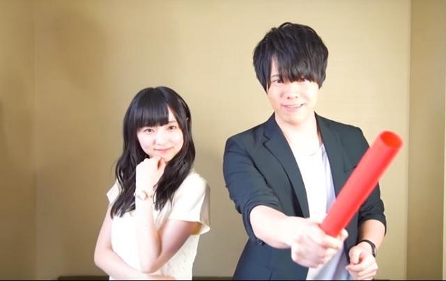 ▲『賭ケグルイ』ステージに出演:田中美海さん&徳武竜也さん