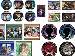 『コードギアス 反逆のルルーシュ』の商品が、TSUTAYA一部店舗にて先行発売決定!「Newtype」と「TSUTAYA」がコラボ
