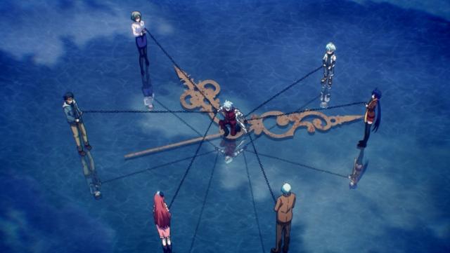 『時間の支配者』第12話「過程と実在」あらすじの先行カット解禁! プレゼントキャンペーン第11弾は原作者が描き下ろした霧の色紙!