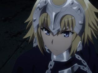TVアニメ『Fate/Apocrypha』第12話「聖人の凱旋」より先行場面カット到着!ルーラーと黒の陣営は空中庭園へと突入する――