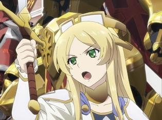 『ナイツ&マジック』第12話より、先行カット解禁! オラシオ(CV:中村悠一)が開発した、強敵・ヴィーヴィル(飛竜戦艦)襲来