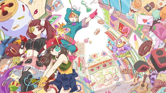 『URAHARA』が、アニメの舞台である「原宿竹下通り商店会」から公認! 10月14日よりスタンプラリーなどのキャンペーンを開催