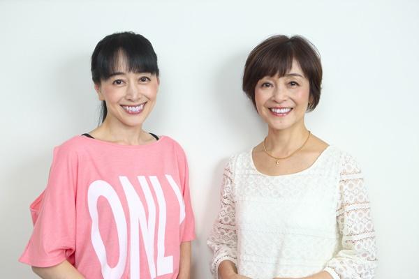 ▲横山智佐さん(左)と日髙のり子さん(右)