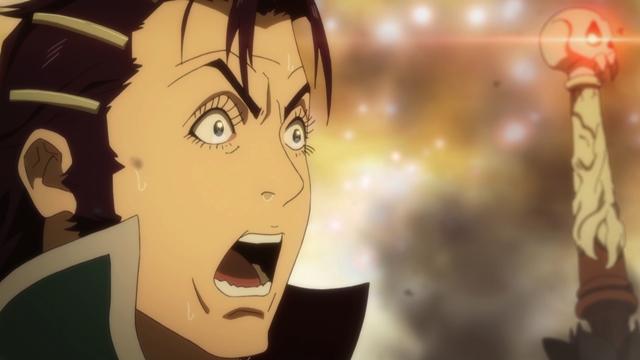『神撃のバハムート VIRGIN SOUL』#23の先行場面カットが到着! 今、人神魔が入り乱れた戦いがはじまる!