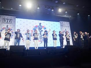 『ツキアニ。』スペシャルイベントに梶裕貴さん、鳥海浩輔さんら総勢12名の声優陣が集合!「月歌夏祭り」昼の部をレポート!
