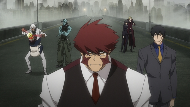 『血界戦線&BEYOND』小山力也さん・阪口大助さんら声優陣が登壇した先行上映会の公式レポート到着! 第1話の先行カットも大公開