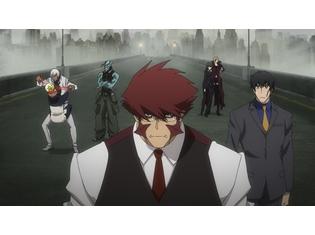 『血界戦線&BEYOND』小山力也さん・阪口大助さんら声優陣が登壇した先行上映会の公式レポート到着! 第1話の先行場面カットも大公開