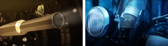 ▲エルメスの3DCGはアップにも耐えられるように細部までこだわって作られたもの。バイクファンにもオススメの作品と言えます。