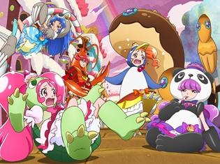 """映画『キラキラ☆プリキュアアラモード』""""スーパープリキュア""""の新たなスチールが公開! 声優陣も「イチオシ!」と声をそろえる程、印象的なシーン"""