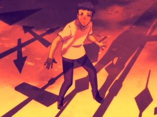 『EVIL OR LIVE』第1話先行カット到着! 主人公・ヒビキ役の植田慎一郎さん、謎の少年シン役の内山昂輝さんのインタビュー映像も解禁