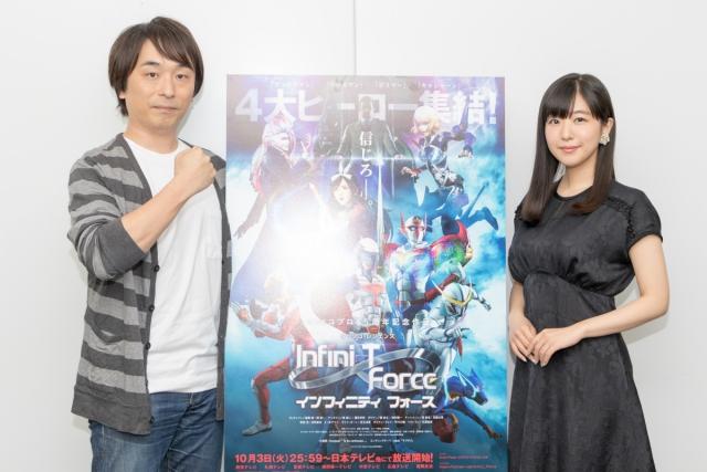『劇場版Infini-T Force/ガッチャマン さらば友よ』破裏拳ポリマーを演じる鈴村健一さんが語る『Infini-T Force』が女性にウケた理由-1