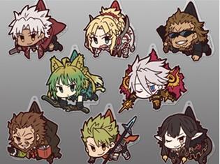 『Fate/Apocrypha』つままれシリーズ第2弾登場! 赤のセイバーたちサーヴァントやシロウ・コトミネ、獅子劫界離がキーホルダー&ストラップに!