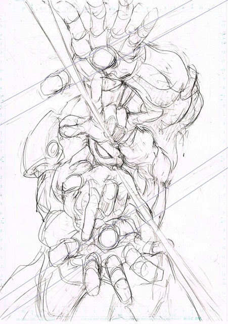 『スパイダーマン:ホームカミング』プレミアムBOXの封入特典は『ワンパンマン』村田雄介先生描き下ろしポスター! ラフスケッチ公開