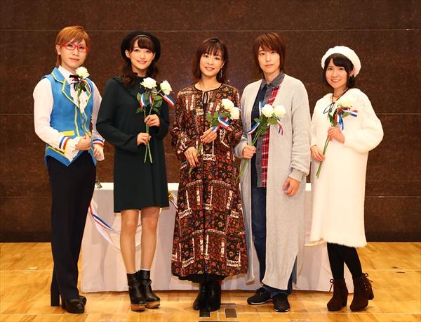 トリコロールの3人と茜屋日海夏さんが『プリパラ』の思い出を語る!