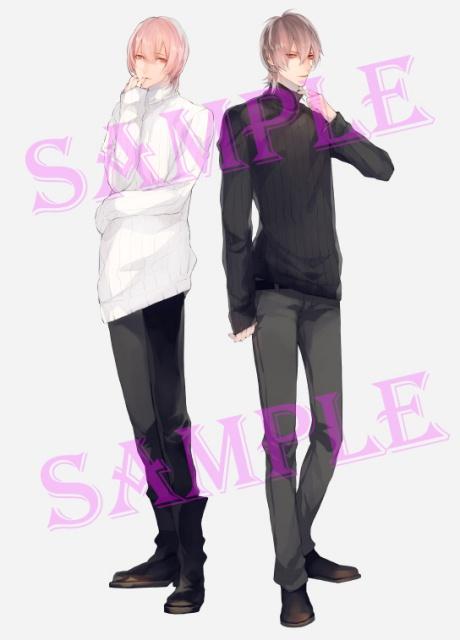 湯町駆さん出演のドラマCD『淫魔』「とろける誘惑・過激な誘惑」キャラクターイラスト公開! 今作もサマミヤアカザ先生の描き下ろし