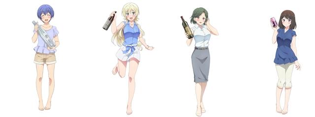 『たくのみ。』TVアニメ声優陣&キャラクターPVが解禁! 今村彩夏さん、安済知佳さん、小松未可子さん、内田真礼さんが出演