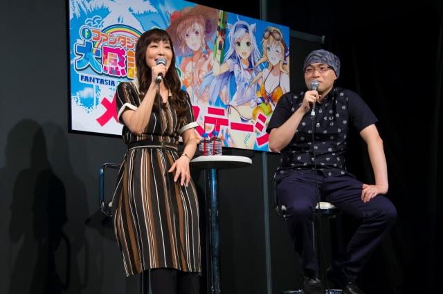 『ハイスクールD×D HERO』ステージレポート|日笠陽子さんは第4期タイトルを『ハイスクールD×D ポロリ』だと思っていた!?