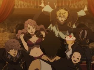 『ブラッククローバー』第6話「黒の暴牛」より、先行場面カット公開! アスタが訪れたのは、最低最悪な魔法騎士団のアジト!?