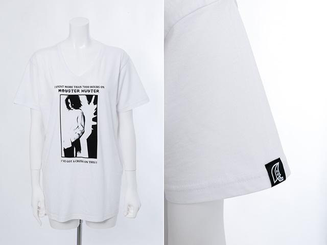 『モンスターハンター』後藤真希さんのコラボキャップ&Tシャツを販売。セット購入で直筆サイン入りチェキプレゼント!