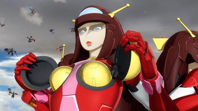 ▲マジンガールズ専用ロボット・ビューナスA軍団