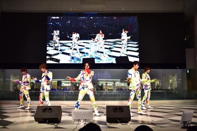 7人のダンスパフォーマンスは圧巻! シャッフルユニットCDも発売決定した「ドリフェス!Miracle☆Greeting!03」レポ【AGF2017】