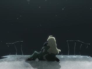 『少女終末旅行』第8話【「記憶」「螺旋」「月光」】のあらすじ&場面カットが到着! チトとユーリは石像の写真を撮ったことでカナザワを思い出し……