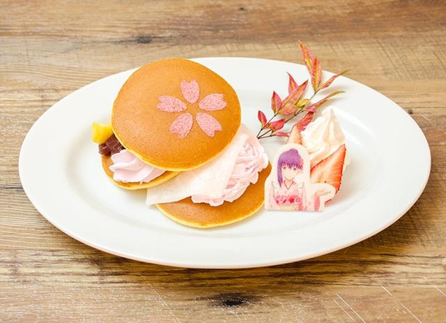 ▲桜のしあわせパンケーキ