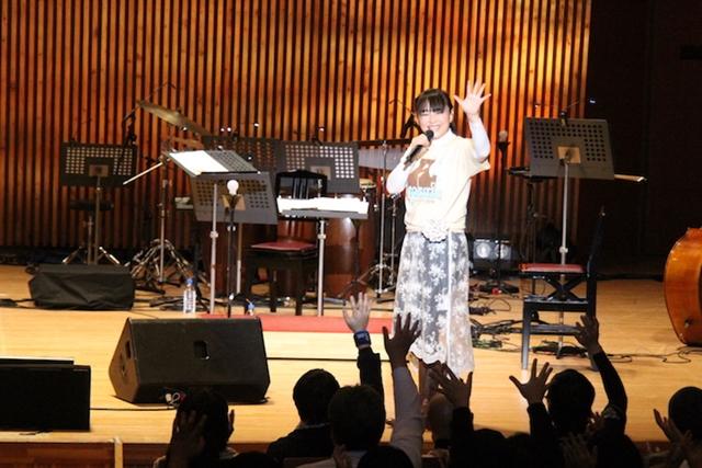 今井麻美さん、アコースティックライブツアー初日・無事終了! 今井さんの「Ave Maria」に酔いしれた軽井沢