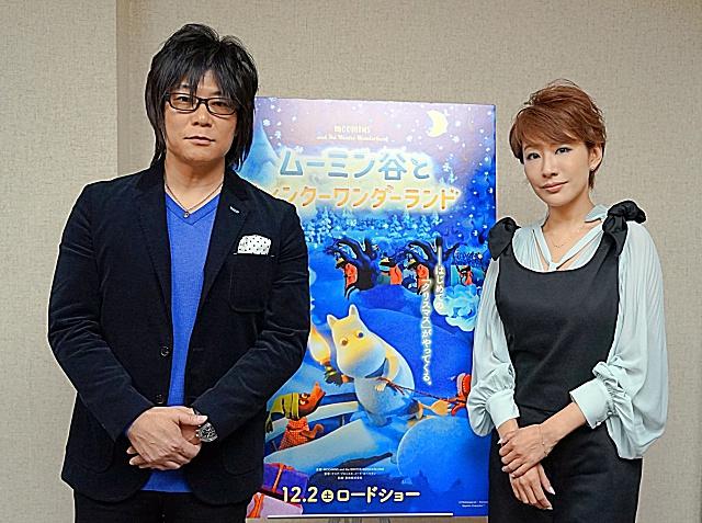 ▲左より、森川智之さん、朴璐美さん