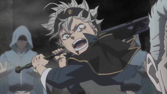 『ブラッククローバー』第10話「護る者」より先行カット解禁! 氷魔法を使うヒースとの戦いに苦戦する中、マグナが起死回生の策を……