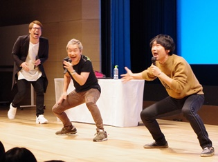 ゲストとして出演した小野坂昌也さんがイベントのあり方について物申す! 安元洋貴さん&小西克幸さんによるイベント「やすこにっ」第24回レポート
