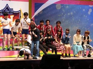 ラジオ番組なのに、声も体も張る! 佐倉綾音さん、小野賢章さんら総勢17名のパーソナリティーが爆笑を巻き起こした「文化放送A&Gオールスター2017」をレポート!