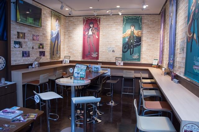『キノの旅』新宿マルイ アネックスにアニメイトカフェの国が誕生!? キノとエルメスの旅に同行しよう!