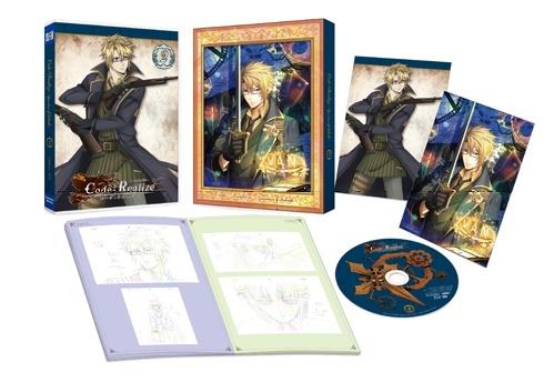 TVアニメ『Code:Realize ~創世の姫君~』BD&DVD第2巻のアニメイト限定版特典と展開図を公開! サンシャインシティプリンスホテルのコラボも