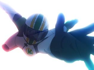 『つうかあ』より第11話あらすじ&場面カットが到着! 予選を翌日にひかえた宮田ゆり&目黒めぐみがプロレーサーを相手にレースをすることに