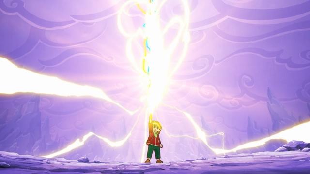 『魔法陣グルグル』第22話の先行場面カット&あらすじが到着! ジタリの遺跡へと乗り込もうとするニケとククリ一行だが結界によって阻まれてしまい……-4