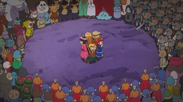『魔法陣グルグル』第22話の先行場面カット&あらすじが到着! ジタリの遺跡へと乗り込もうとするニケとククリ一行だが結界によって阻まれてしまい……-2