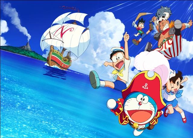 『映画ドラえもん のび太の宝島』に山下大輝さん、折笠富美子さん、大友龍三郎さん、早見沙織さんが出演決定! 待望の劇中カットが解禁に