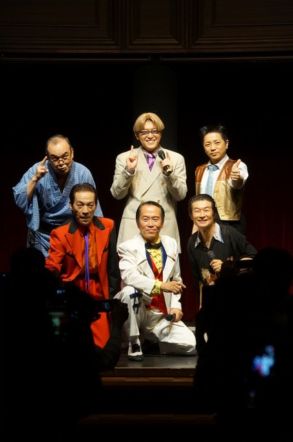 ダンディ団と横山智佐さんが歌謡ショウの想い出を語る『続・花咲く男たち』座談会