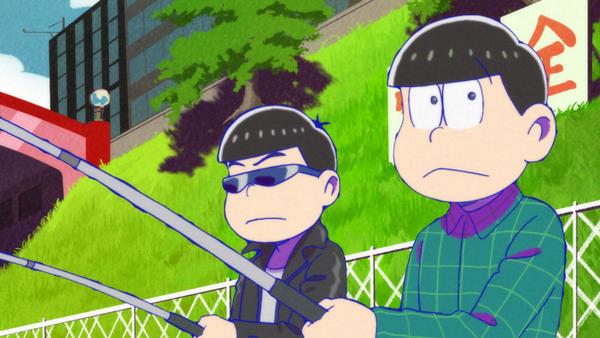 『おそ松さん』第2期より、第12話「栄太郎親子」ほかの先行場面カット到着! 十四松と一緒にいる少年の正体は?の画像-10