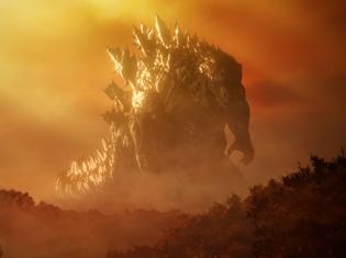 """『GODZILLA 怪獣惑星』300メートルゴジラの名前は""""破壊の王""""「ゴジラ・アース」! キャラクターPVも公開に"""