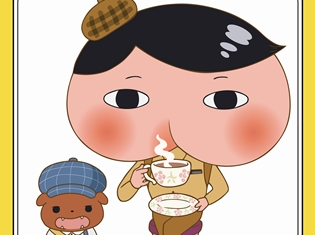 シリーズ累計発行部数170万部超えの児童書『おしりたんてい』が2018年5月にププッとアニメ化! 三瓶由布子さん、齋藤彩夏さん、櫻井孝宏さんらが引き続き声を担当