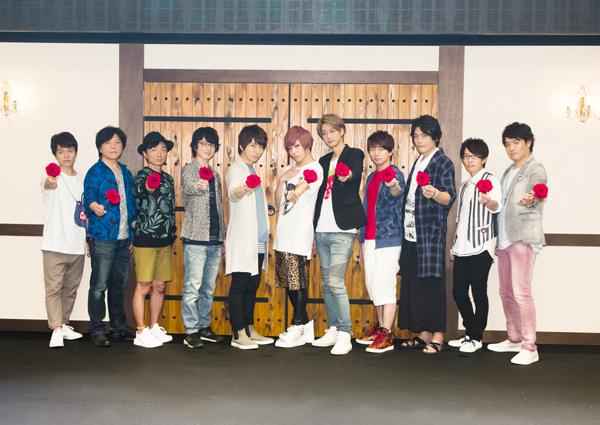 木村良平さんら男性声優11名による人狼イベントDVDが発売