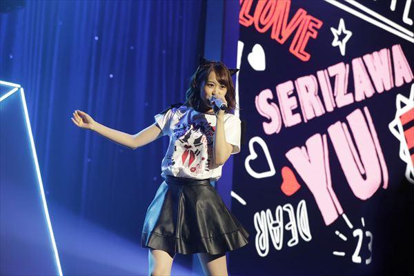 芹澤優さん2度目となるバースデーソロライブでOnly youの可愛さを魅せる!