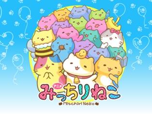 TVアニメ『みっちりねこ』が2018年1月4日より放送スタート! 中村悠一さん、福山潤さん、神谷浩史さん、櫻井孝宏さんら豪華声優陣が出演